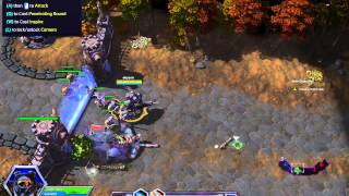 Heroes of the Storm - First video, intro, tutorial and mission