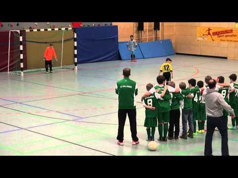 Elfmeterschiessen um Platz 3 BSC Old Boys Basel U11 - SV Nollingen Ea 04.01.2015