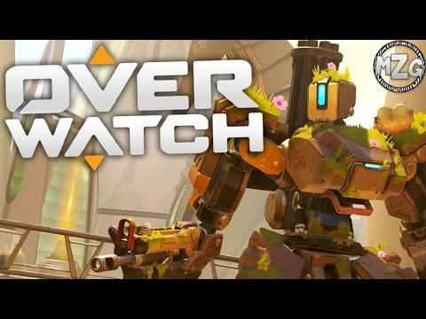 Overgrown Bastion! - Overwatch PS4 Gameplay - Episode 25