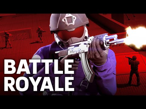 Grand Theft Auto V - Trap Door Battle Royale Mode Gameplay