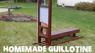 How to Make a Guillotine Creepy Halloween Lawn Decoration!