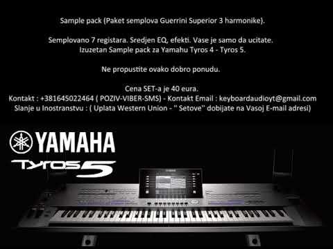 Yamaha Tyros 4 5 Harmonike DEMO