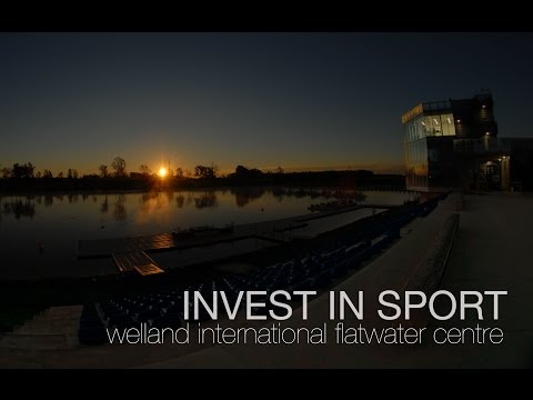 INVEST in Sport - The Welland International Flatwater Centre