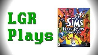 LGR Plays - The Sims House Party