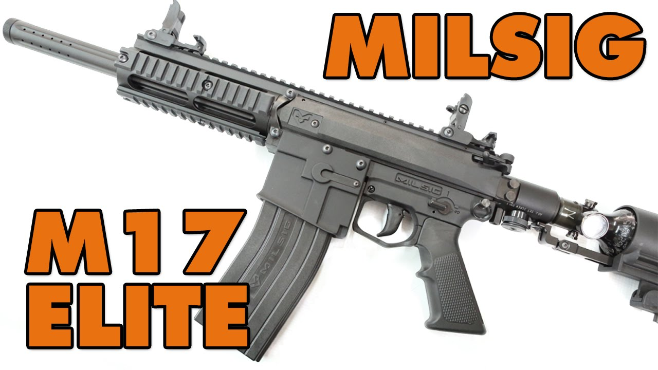 Milsig M17 Elite | Defcon Paintball Gear
