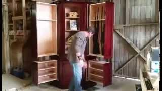 Monster Hidden Gun Cabinet By Ferrall's Woodworks
