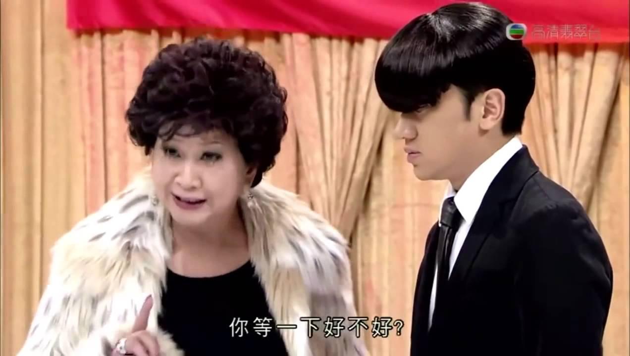 何傲兒扮演千頌伊 王祖藍扮演都敏俊 回歸藍星的你 - YouTube