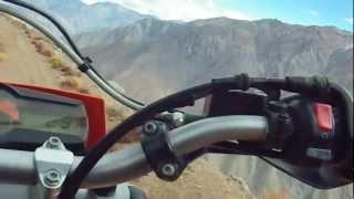 Chilean Andes Dangerous Road