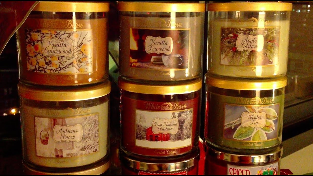 Bath & Body Works White Barn Holiday 2013 Candles: White ...
