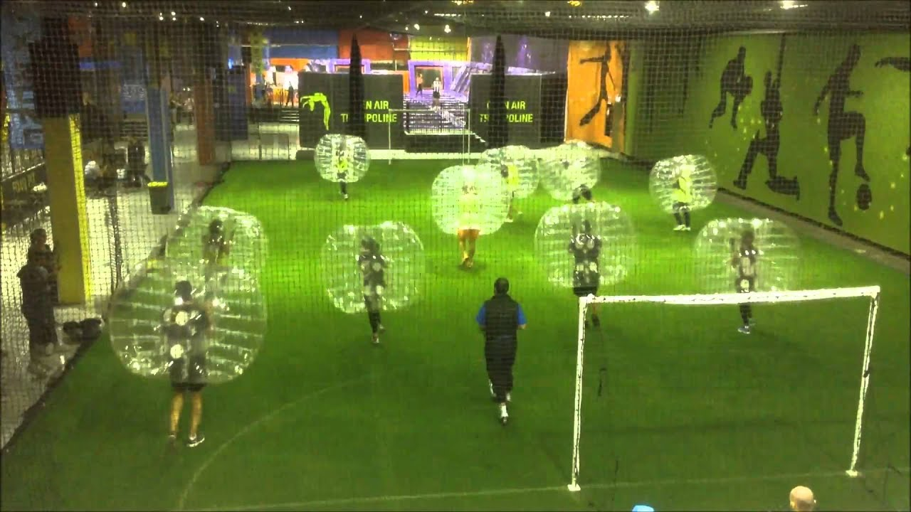 Bubble Soccer At FX Zone