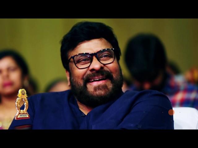 Megastar Chiranjeevi @santhosham Film Awards 2018 #Photoexposure