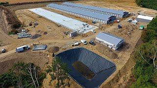 Budowa fermy drobiu, kurniki, budowa kurników - Kanus