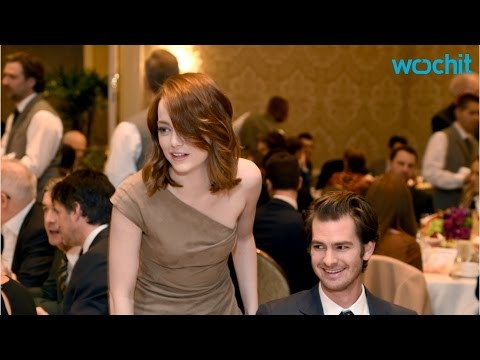 Emma Stone And Andrew Garfield Run Into Each Other At AFI Awards