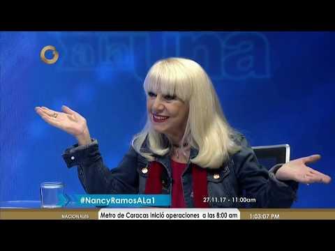La cantante venezolana Nancy Ramos cuenta su historia en Vladimir a la 1 (Parte 1/5)