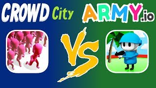 Crowd City Vs. Army.io | Which Is The Better Game? | Part 5