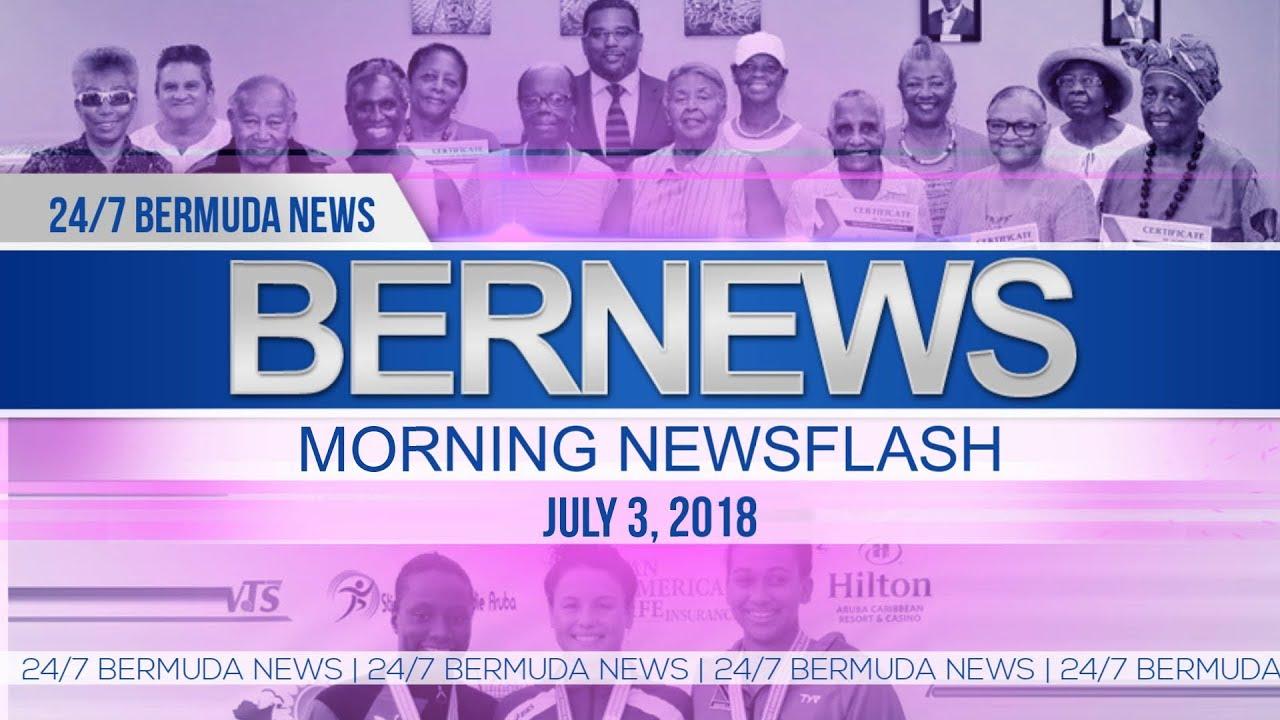 Video: July 3rd Bernews Morning Newsflash - Bernews