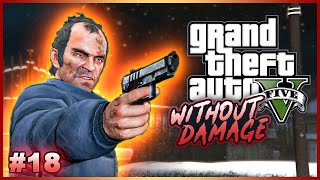 Completing GTA V Without Taking Damage? - No Hit Run Attempts (One Hit KO) #18