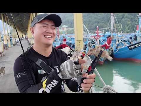 Casting Ikan Kerapu di Balik Pulau, Japan Style Ajing Fishing