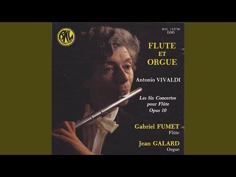 6 Flute Concertos, Op. 10, No. 5 in F Major, RV 435 (Arr. for Flute and Organ)