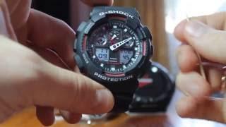 Casio G SHOK GA 100, Особенности оригинальных часов(Особенности по которым искал эти часы, особенности которые отличают оригинал от подделок. Спасибо за просм..., 2016-09-06T08:45:21.000Z)
