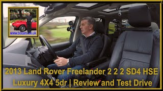 Review and Virtual Video Test Drive In Our 2013 Land Rover Freelander 2 2 2 SD4 HSE Luxury 4X4 5dr