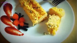 Рулет-омлет/Яичный рулет с зеленью за 3 минуты/ Egg roll with greens recipe(in 3 minutes)