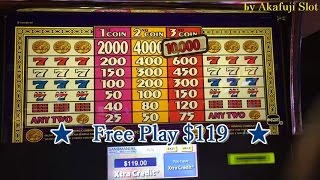 ★FINALLY BIG WIN★Triple Cash Slot on Free Play Max Bet, Dragon's Law Twin Fever Slot Bet $3.50