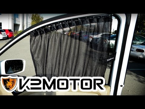 K2 MOTOR INSTALLATION VIDEO: UNIVERSAL VIP SLIDING WINDOW CURTAIN