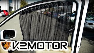 K2 MOTOR INSTALLATION VIDEO: UNIVERSAL VIP SLIDING WINDOW CURTAIN(, 2013-07-16T22:18:29.000Z)