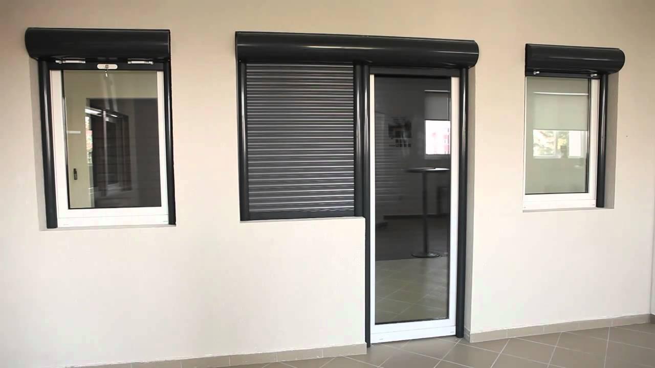 17 persianas enrollables de aluminio con barrera termica outbox mca youtube. Black Bedroom Furniture Sets. Home Design Ideas