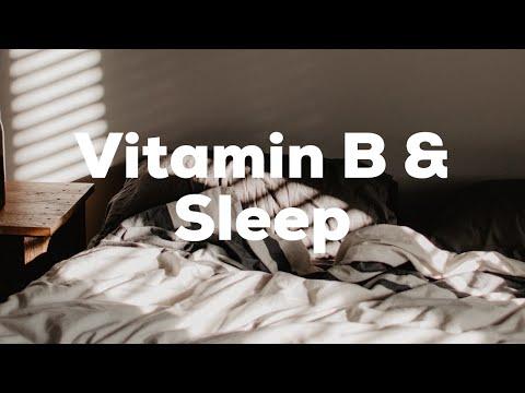 #NoMeds: B Vitamins & Sleep
