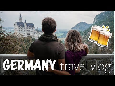 Medieval Towns, a Disney Castle, & Oktoberfest in Munich | TRAVEL vlog no. 003
