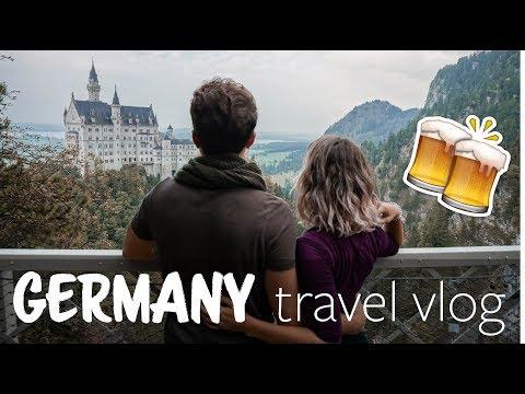 Medieval Towns, a Disney Castle, & Oktoberfest in Munich | TRAVEL vlog no. 003