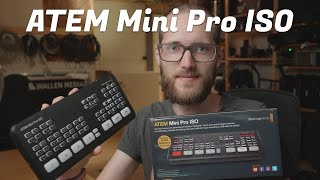 ATEM Mini Pro ISO - What's new, workflow and walkthrough // Show and Tell Ep.68