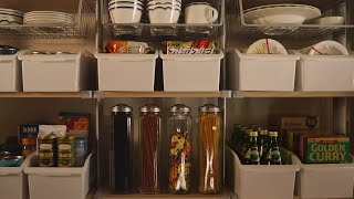 [ENG] 주방정리 1탄 팬트리정리 편 | 깔끔한 주방…