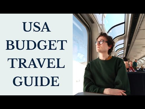 USA BACKPACKING BUDGET   Our $45/day budget for travelling across America by train