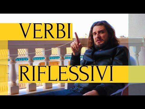 Возвратные глаголы в итальянском языке | verbi riflessivi