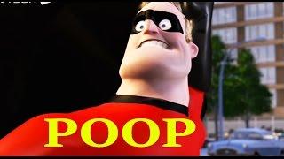 YouTube Poop | Mr. Incredible has Gas