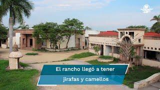 El inmueble, que fue habitado por el narcotraficante Édgar Valdez, La Barbie, se encuentra en Atlacholoaya, Morelos, y ahora será sorteado por la Lotería Nacional