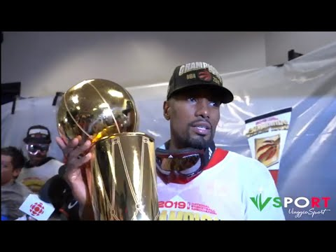 Fun, champagne & locker room celebrations: the Toronto Raptors are the 2019 NBA Champions