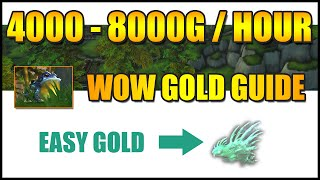 WoW Gold Farming: 4000-8000G/HOUR  (WoW Gold Guide)