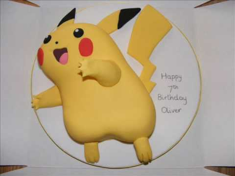 pikachu birthday cake pikachu cake decoration ideas 6524