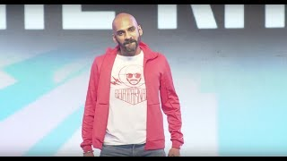 Being Indian's Sahil Khattar @ YouTube FanFest India 2017