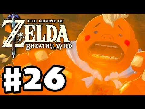 Yunobo and Goron City - The Legend of Zelda: Breath of the Wild - Gameplay Part 26