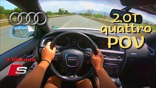 2011 Audi A5 Sportback 2.0tfsi 211hp | POV Test Drive