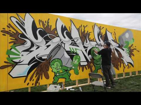 Soundset: Ironlak x Known Gallery x Seventh Letter Artists Live Painting.