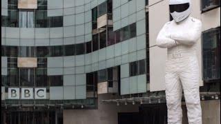 Big Stig at the BBC broadcasting house. Short Vlog!