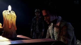 Clementine and Louis Kiss Scene (Walking Dead: The Final Season Episode 2)