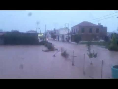 Πλημμύρες στην Ηλεία