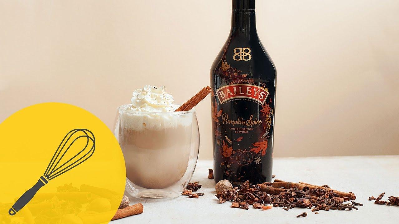 selbstgemachter pumpkin spice latte rezept mit baileys. Black Bedroom Furniture Sets. Home Design Ideas